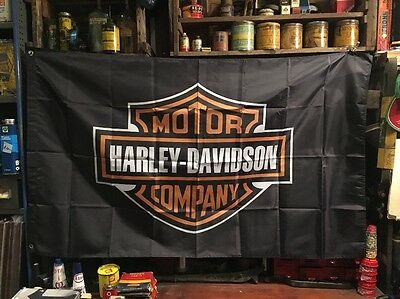 Harley Davidson New Flag