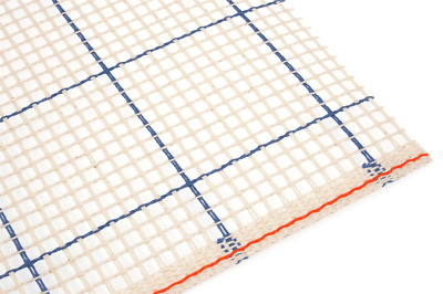Zweigart rug canvas with grid lines 3 HPI. Perfect for latch hook / pom pom rugs