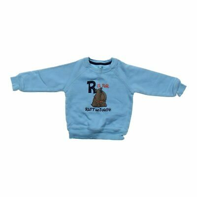 Jumping Beans Baby Boys  Sweatshirt, size 24 mo,  light blue,  cotton, polyester