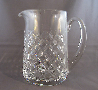 """Waterford Cut Crystal Pitcher, Alana Pattern, 6 1/2"""""""