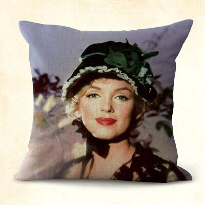 US SELLER, American actress Marilyn Monroe couch decorative pillow case