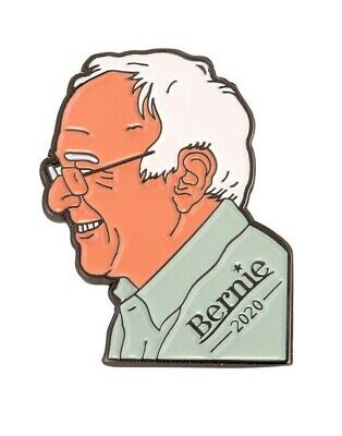 Bernie Sanders 2020 Pin, Democrat Party Presidential Candidate, Socialist Pin
