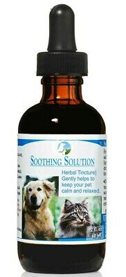 Vitality Science Soothing Solution Calming Anxiety Herbal Remedy for Dogs & Cats