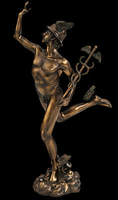 "Flying Mercury 13"" Sculpture Statue Replica Reproduction"