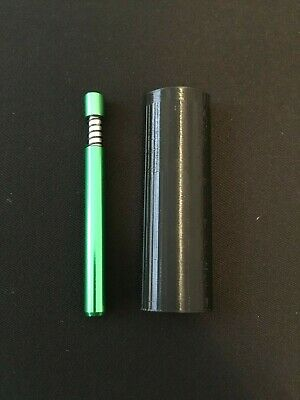 "Super Compact Dugout with 3"" Self Cleaning One Hitter Pipe"