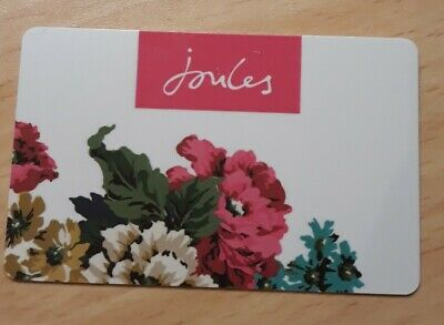 Joules £249 GIFTCARD GIFT CARD CLOTHES VOUCHER INSTORE & ONLINE
