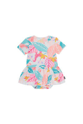 Bonds Baby Short Sleeve Stretchies Balletsuit sizes 000 2 Spy In The Jungle