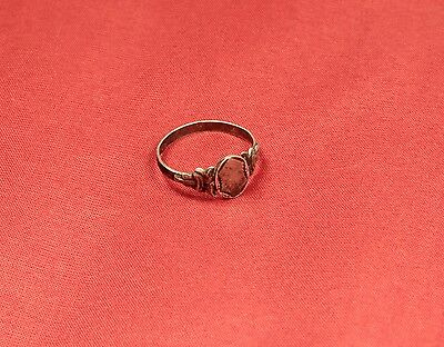 Nice Silver Finger Ring From the 19. Century