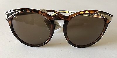 13c65b054 Perverse Women's Sunglasses Big Mouth 03 Clara-0490 Tortoise Brown Gold -  New