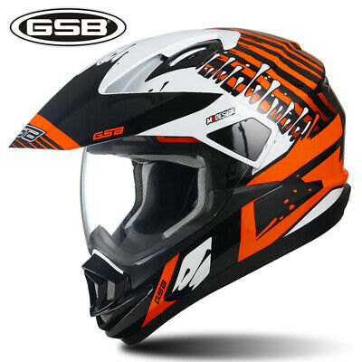 NEW Motorcycle Helmet Full Face Motocross Rally Safety Helmet Tide Cool ECE