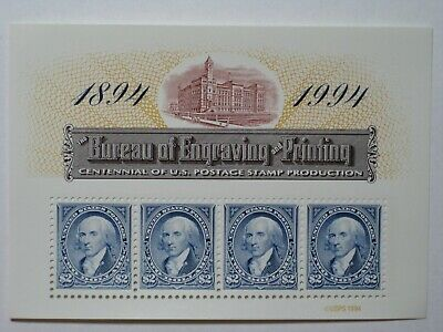 #2875 Bep 100 Panes Of 4 Stamps Mnh, Selling At Face Value