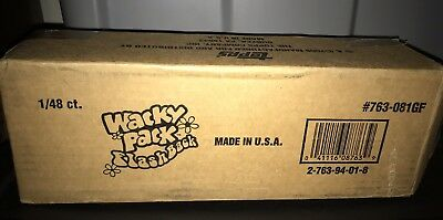 Wacky Packages Flashbacks Gravity Feed Series 1 New Box 48 Unsearched Packs Gold