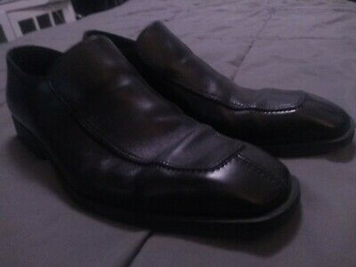 23e0a246e GUCCI Men's Black Leather Horsebit Loafers Dress Shoes Size 10 D Made in  Italy