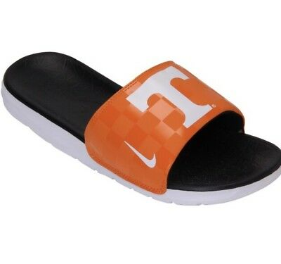 half off a9a02 d249d New In Box Tennessee Volunteers Nike Benassi Solarsoft Slides Youth Size 4  NIB