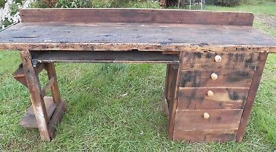 Pleasing Vintage 8 Long Work Bench For Kitchen Island Work Table Pdpeps Interior Chair Design Pdpepsorg