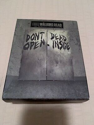 The Walking Dead Season 1 Blu Ray Limited Edition Complete Set