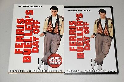 Ferris Buellers Day Off (DVD, Bueller Edition)  Brand New & Sealed
