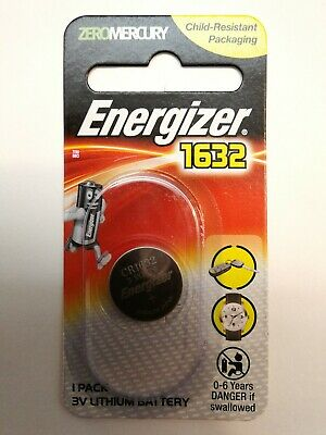 Energizer cr1632 Lithium Coin Battery 3v 1632 free postage key remote watch