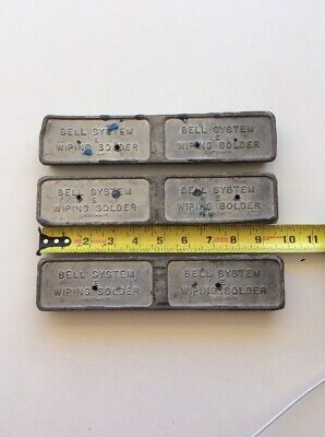 VINTAGE BELL SYSTEM Wiping Solder Lead 5 Pound Tin Lead Sn