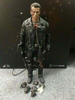 Hot Toys 1//6 Scale DX13 T800 Terminator Battle Damaged Version Hand Joints