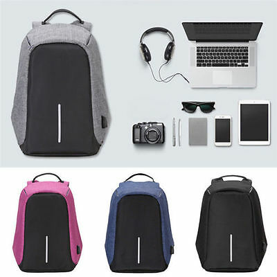 Modernist Max II Upgraded – Water Resistant with USB Charging Port Travel Backpa