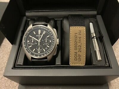 New Bulova 96B251 Special Edition Apollo Lunar Pilot Chronograph Moon Watch