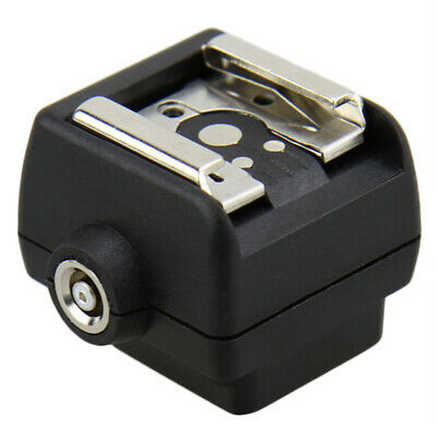 JJC Hot Shoe Adapter for Sony & Minolta Maxxum to Standard ISO Hot Shoe with PC