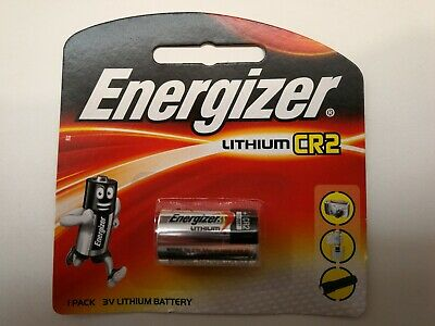 Energizer Lithium CR2 Battery 1 Pack 3v camera torch free postage