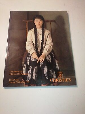 Christie's Hong Kong CONTEMPORARY CHINESE OIL PAINTINGS October 1995