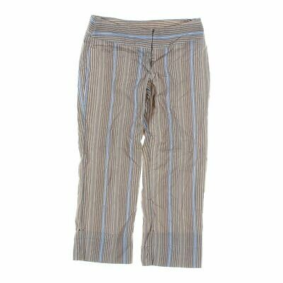 Tracy Evans Girls  Pants size JR 5,  beige, blue/navy,  cotton, spandex