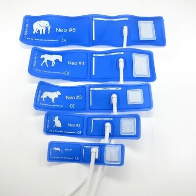 5size/Lot veterinary special NIBP cuff with single tube pet animal connector