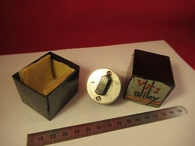 VINTAGE 1940's QUARTZ CRYSTAL BLILEY VF1 VARIABLE FREQUENCY 7128 KC +BOX &9-A-49
