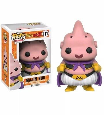 Funko Pop! Animation: Dragon Ball Z - Majin Buu #111, New Vinyl Figure