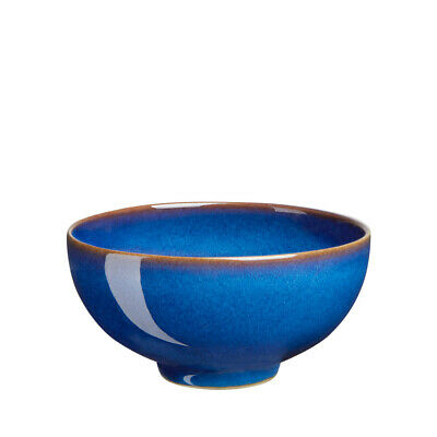 NEW Denby Imperial Blue Rice Bowl