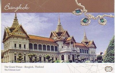 Thailand - The Grand Palace, Bangkok (Post Card) 2009