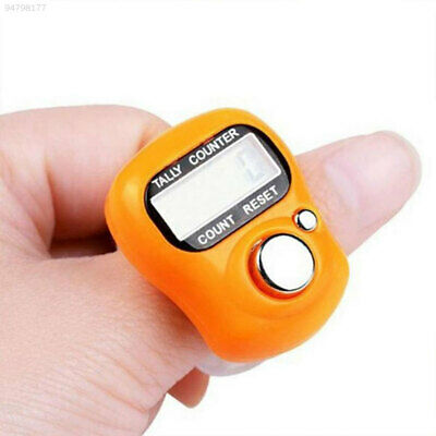 D9F4 Ring Digital Counter Electronic Counter Click Tally Sports Manual Counting