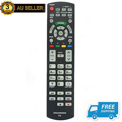 New Replacement Remote N2QAYB000936 for Panasonic TV TH-55AS5700A TH-55AS800A