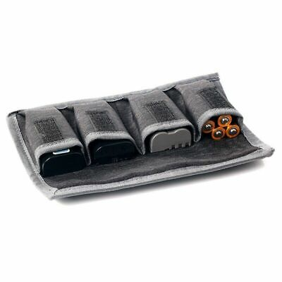 DSLR Battery Bag/ Holder/ Case Storage with 4 Pocket Pouch For Canon New Item