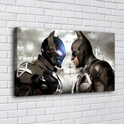 "Batman Arkham City Home Decor Room HD Canvas Print Picture Wall Art 16""x30"""