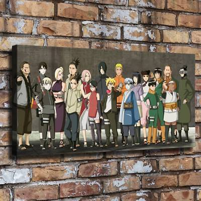 """Anime Boruto HD Canvas prints Painting Room Home Decor Picture Wall art 16""""x32"""""""