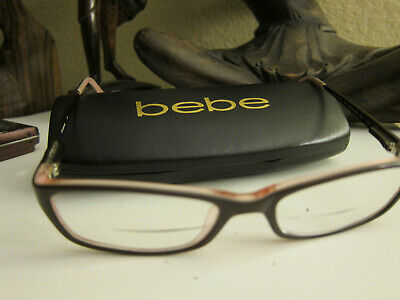 96bb931821d2 BEBE BROWN EYEGLASSES GLASSES FRAMES SMOKED Topaz (Women s) -  90.00 ...