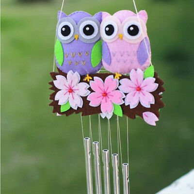 Multi-Color Felt Pack Owl Cherry Blossoms Kids Bed Decor Cute Toy Craft Package