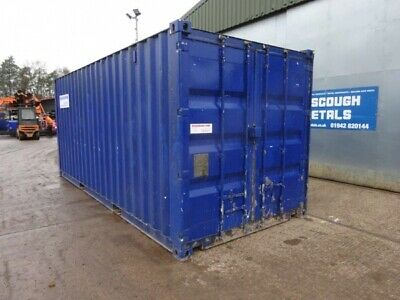 20 ft Long 8 ft Wide Various Colour Used Steel Storage Container / Cabin - Secon