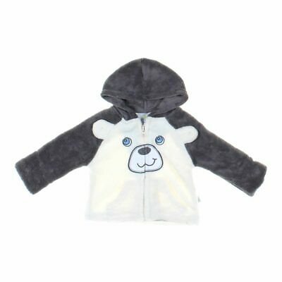 Duck Duck Goose Baby Boys  Hoodie, size 6 mo,  grey, white,  polyester