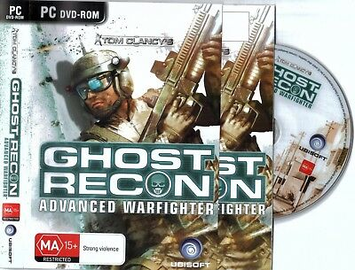 Tom Clancy's Ghost Recon Advanced Warfighter PC Game Clancys