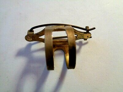 RARE Antique Ribbon Bow Holder HAIR CLIP Dated 1911