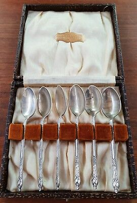 Vintage boxed spoons and dessert forks