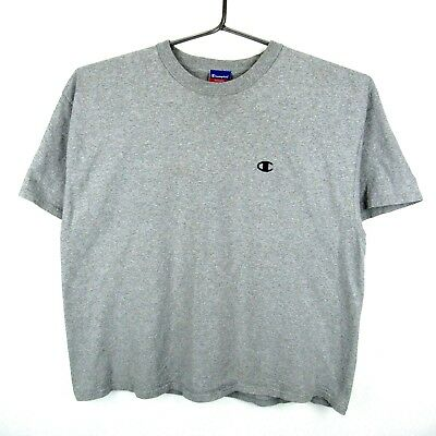 6bea18dd85be VINTAGE CHAMPION T Shirt Size Large Heathered Grey Made In USA 80s ...