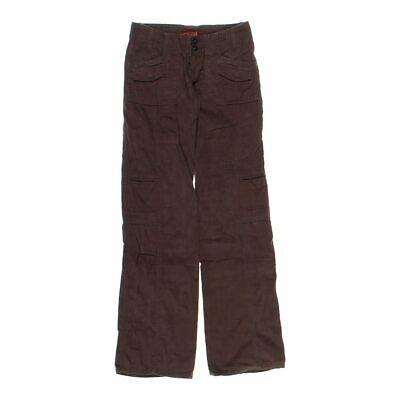 Be Bop Girls  Pants size JR 00,  brown,  cotton, ramie