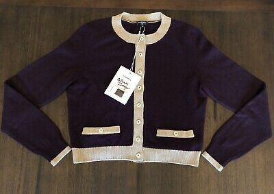 7a78b135a76 CHANEL MOST WANTED Fall 08 100% Cashmere Embellished Cardigan Jacket ...